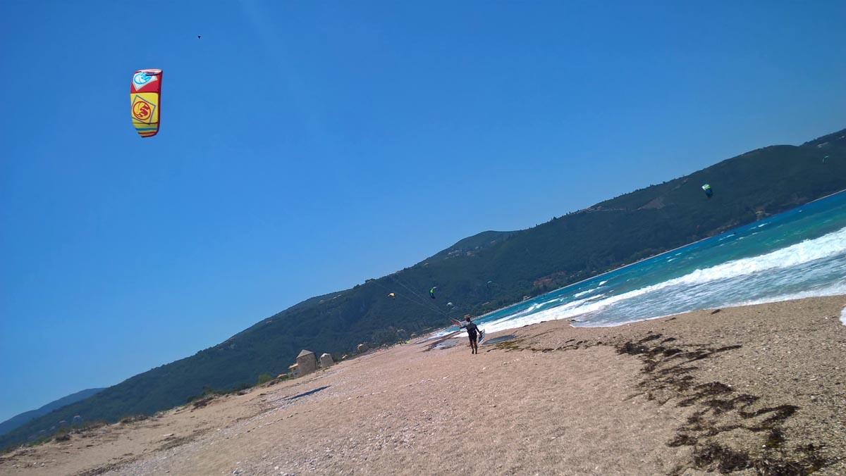 plaża na wyspie lefkada