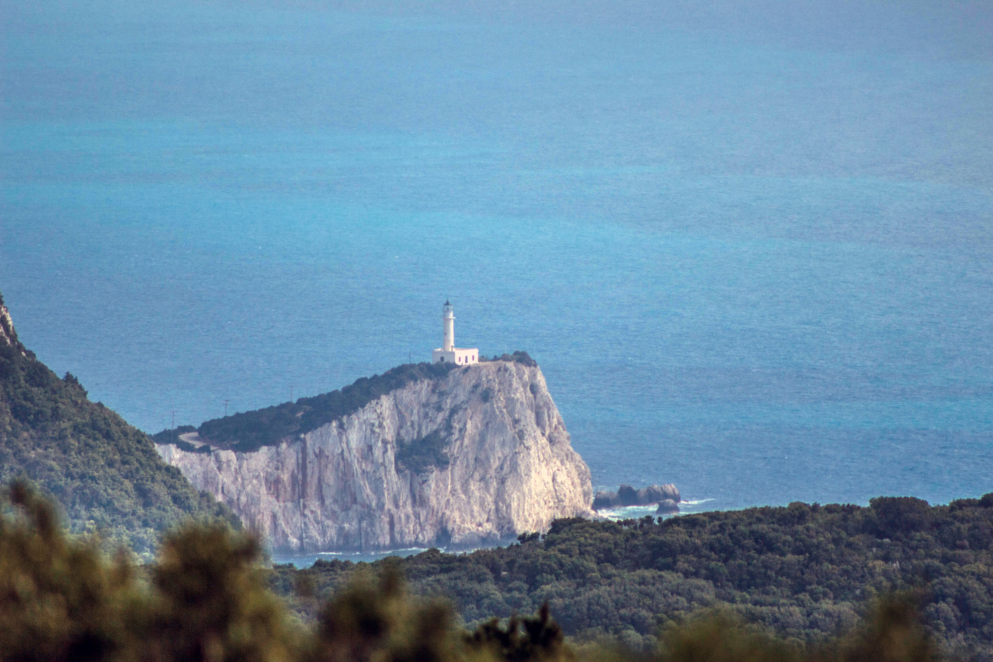 latarnia morska na wyspie lefkada