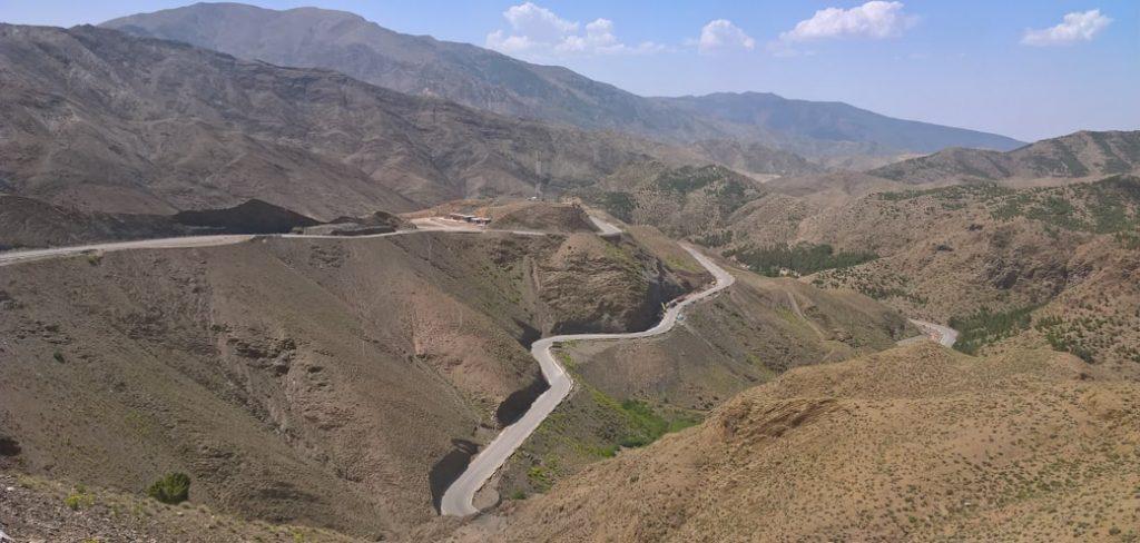 Przejazd przez góry Atlas, Maroko