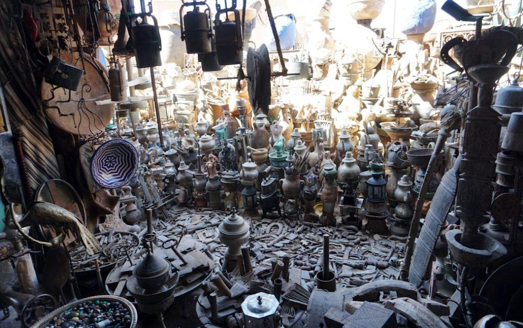 Sklepik w Warzazat, Maroko