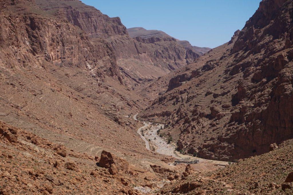 Góry Atlas, wąwóz Todra, Maroko