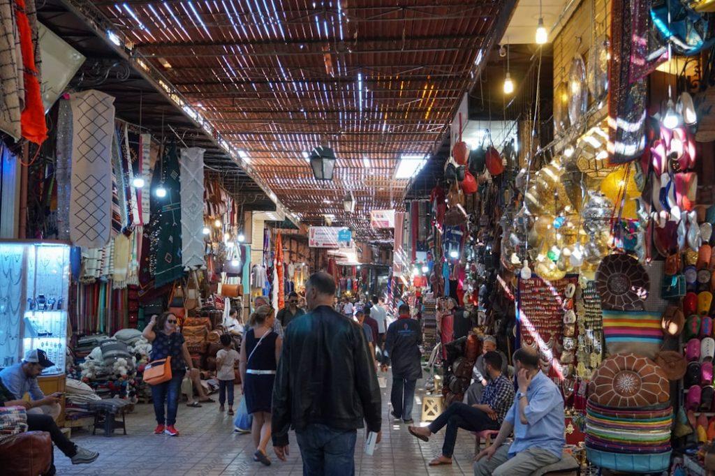 Targ w Marakeszu, Maroko