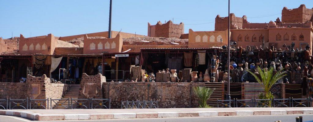 Sklepy w Warzazat, Maroko