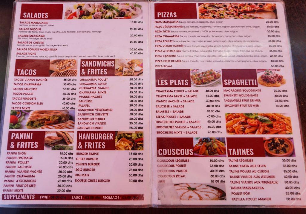Marokański fastfood