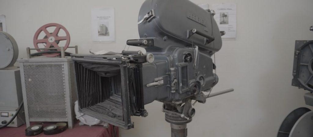 Kamera z Atlas Film Studio Quarzazate