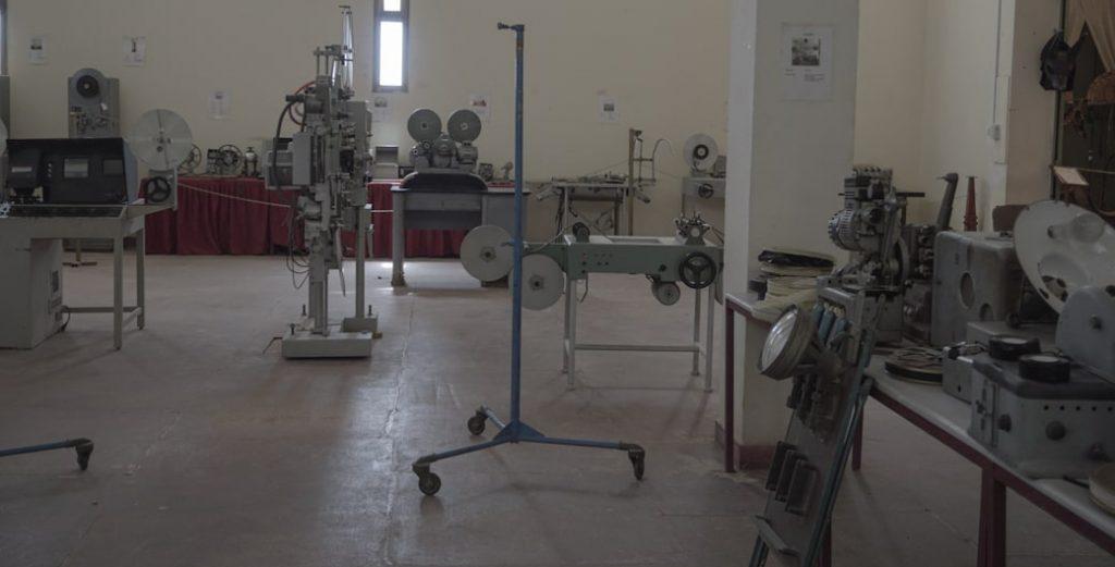 Sprzęt do montażu - Muzeum Kina Quarzazate