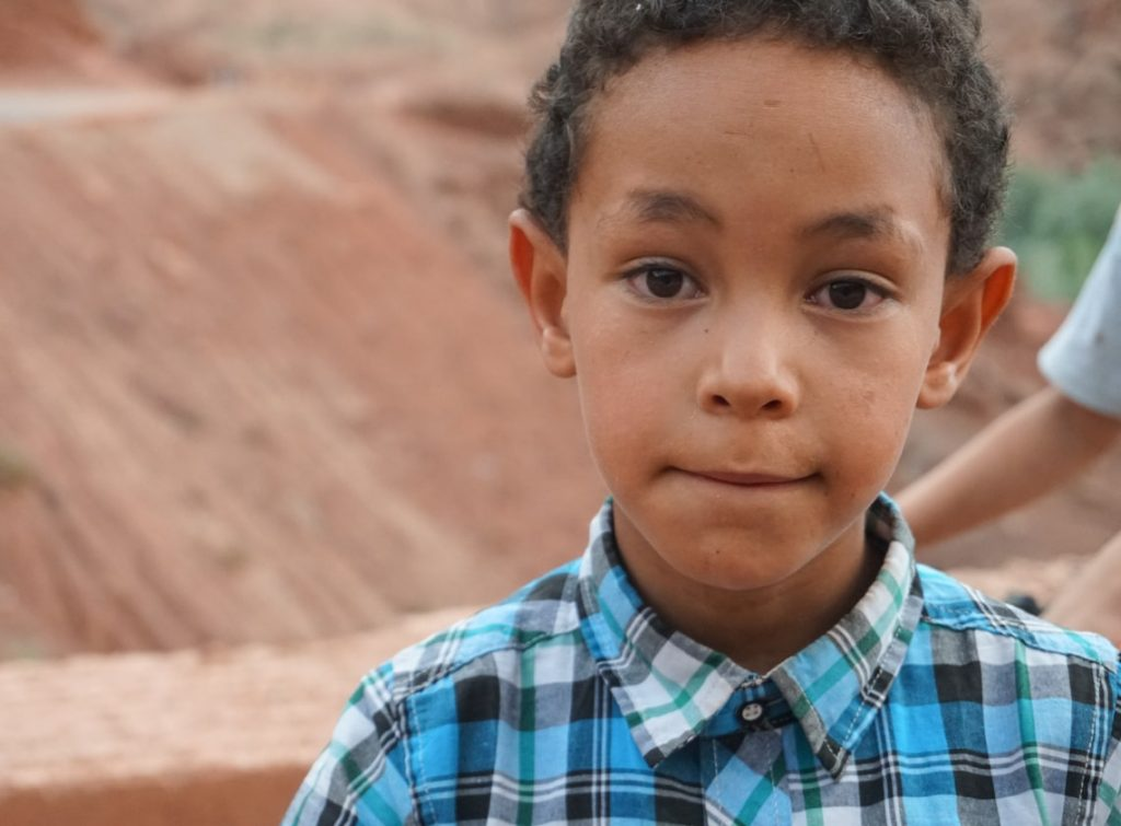 Marokański chłopiec