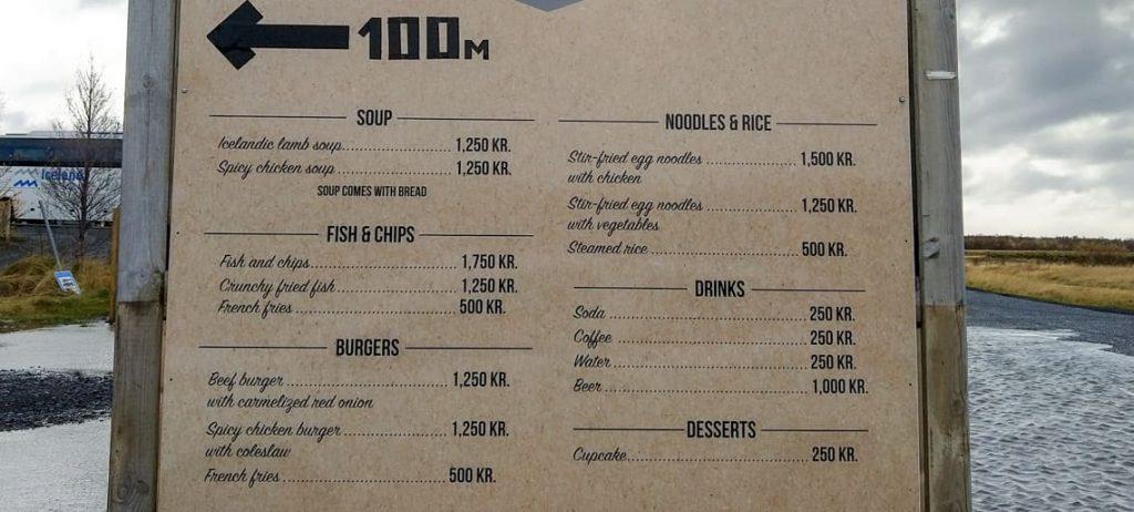 Islandia ceny