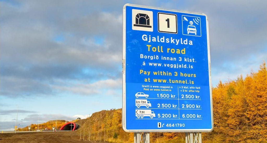 Ceny dróg na Islandii