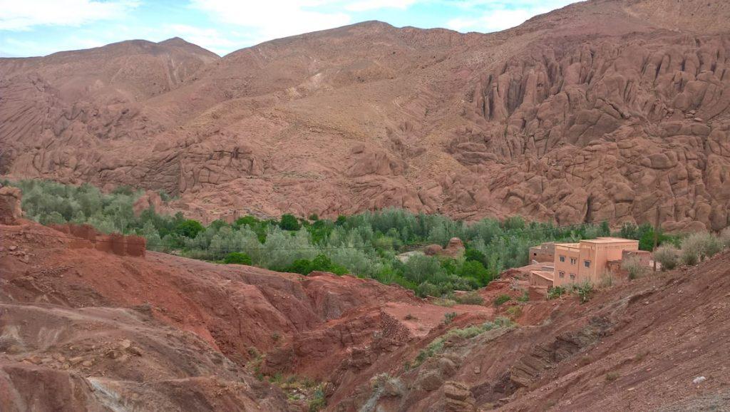 Panorama doliny Dades