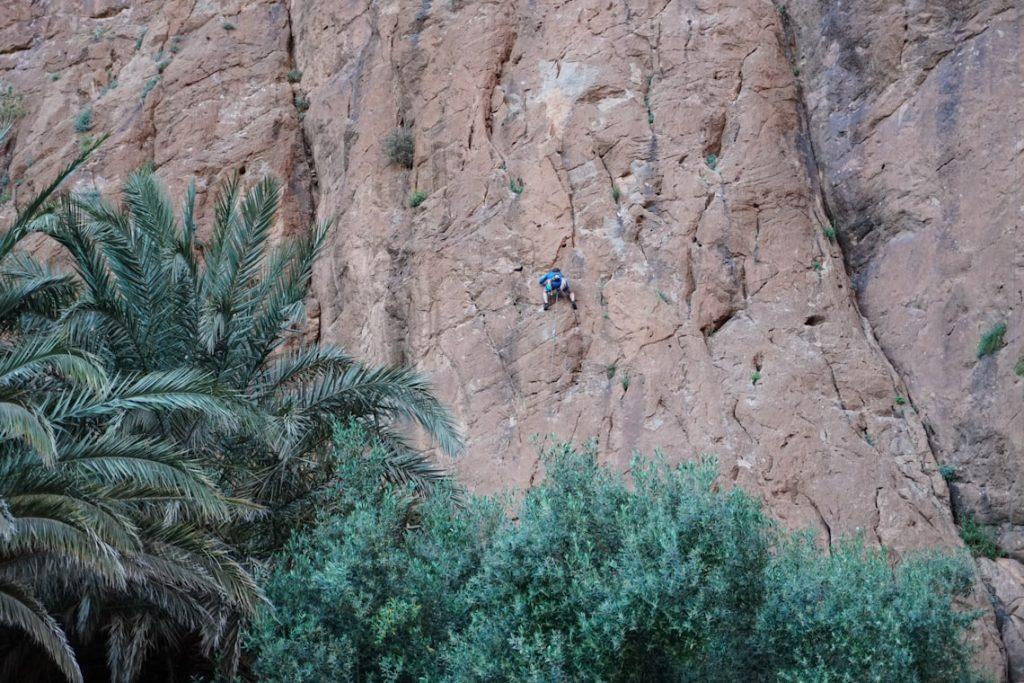 Wspinanie, Todra Maroko