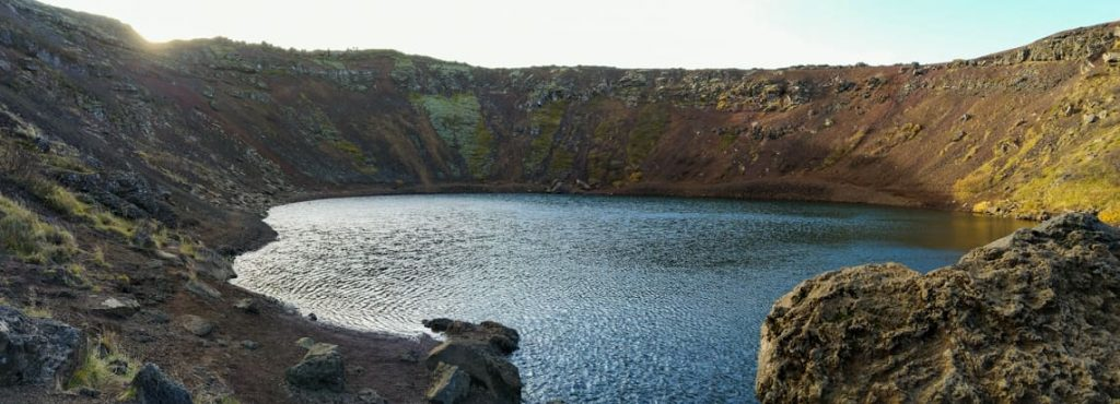 wulkan na islandii