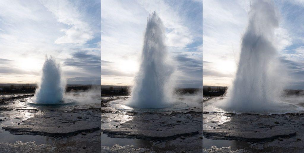 Geysir Islandia - atrkacje