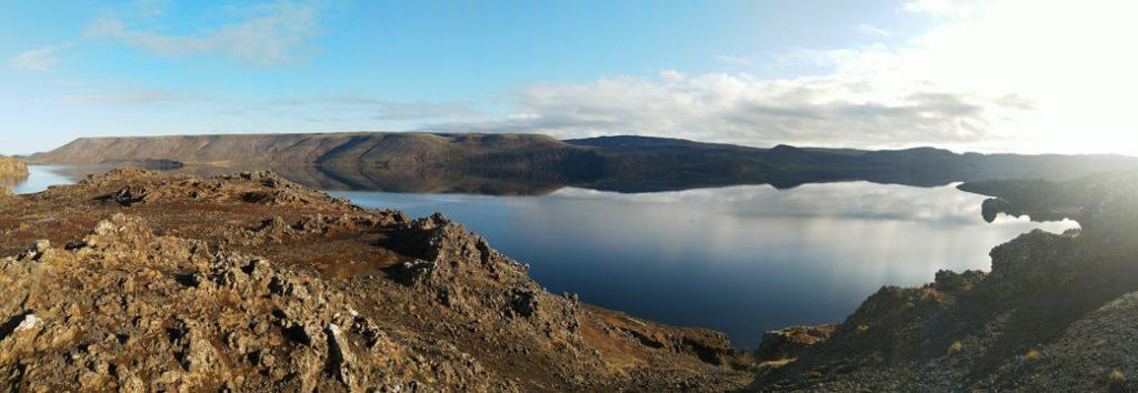 Jezioro islandia