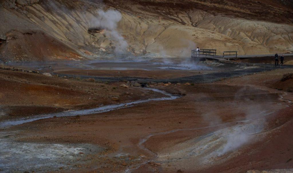 strefa geotermalna w islandii - islandia atrakcje