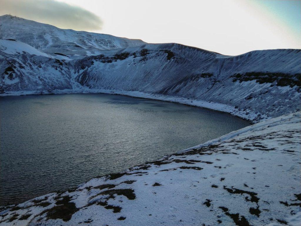 Wulkan Krafla Islandia