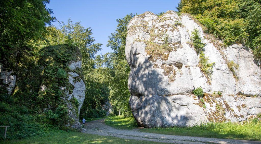 Krakowska Brama w Ojcowskim Parku Narodowym